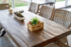 houten tuintafel